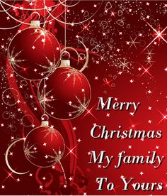 Christian christmas cards with messages and wishes christmas merry christmas my family to yours sending blessings hugs m4hsunfo