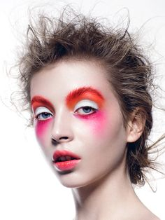 Make-up by Anastasia Durasova.  Photography by Yulia Gorbachenko.