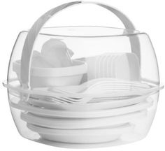 51 piece picnic #camping #bining meal food outside #dinnerware complete set new,  View more on the LINK: http://www.zeppy.io/product/gb/2/252367714863/
