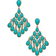 Blu Bijoux Bellisima Chandelier Earrings ($32) ❤ liked on Polyvore featuring jewelry, earrings, accessories, blu bijoux, earrings jewelry, blu bijoux jewelry, dangling jewelry and dangle earrings