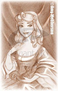 Aurora a le Lely - classic-disney Fan Art
