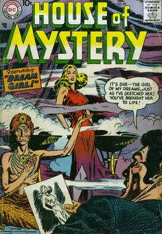 House Of Mystery n°69, December 1957, cover by Bob Brown.