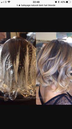 Ash Blonde Short Hair, Ombre Hair, Short Hair Styles, Hair Beauty, My Style, Makeup, Hairstyles, Hair Colors, Hair Ideas