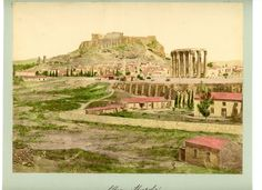 1878. Акрополь. Fantasy Rpg, Athens Greece, Greece Travel, Ancient Greece, Once Upon A Time, Monument Valley, Vintage, Marmi, World