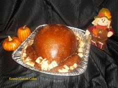 Thanksgiving Turkey Cake For more pics - Find us on Facebook TODAY! Kosmic Custom Cakes