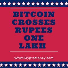 Bitcoin price rises.Bitcoin in India crosses Rs one lakhBitcoin price rises in India.Click on the link below to read why bitcoin price is rising.http://kryptomoney.com/index.php/bitcoin-crosses-rs-one-lakh/