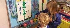 KLOSkennis schilderen – KLOSKENNIS School Ideas, Teaching, Painting, Art, Shop Signs, Art Background, Painting Art, Kunst, Paintings