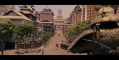 Chinese Imagination of a prosperous and magnificent Manchuria-from a Chinese film Guns and Roses…