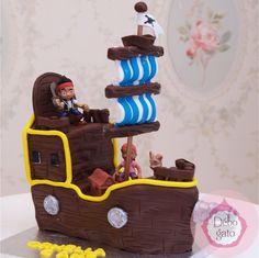 Gateau anniversaire capitaine crochet