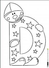 Escuela infantil castillo de Blanca: ABECEDARIO COLOREAR School Projects, Preschool Activities, Patches, Techno, Symbols, Scrapbook, Blog, Milani, Clowns