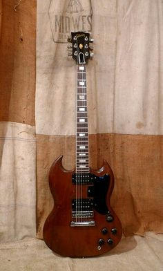 1976 Gibson Sg Standard Walnut