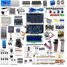 Adeept Ultimate Starter learning Kit for Arduino MEGA 2560 LCD1602 Servo Motor  #Adeept