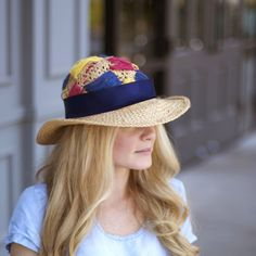 DIY this Anthropologie inspired fedora with two supplies!