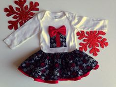 Holiday dress, Christmas Dress for Girls, Baby Christmas Outfit on Wanelo
