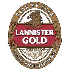Cerveja Games of Thrones (dos Lannister)