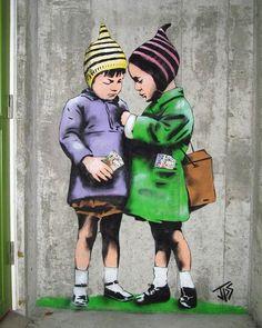 Une sélection de créations du street artist anglais JPS