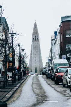 Reykjavik, Iceland's capitol is one of the cleanest, safest, and happiest cities in the world.  Even though it only has an urban area population of around 200,000, it is the home of the vast majority of Iceland's inhabitants.
