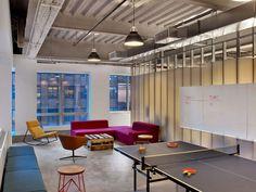 Relax room inside the modern office
