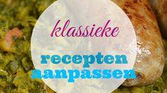 Klassieke, traditionele, Hollandse recepten aanpassen zodat ze gezond worden. #waarismam #gezondeten ©waarismam.nl