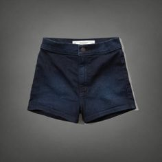 love these high waisted shorts from abercombie