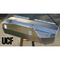 UCF Aluminum Gas Tank Skid for Jeep LJ - Carmen Butt Tuck