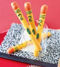 Pretzel Pencils for Teacher Appreciation or first week of school!