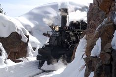 Image result for durango and silverton train in the winter