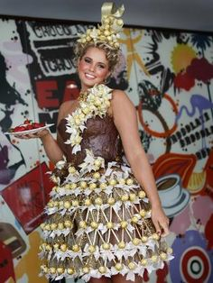 ferrero rocher dress - Google Search