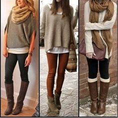 Casual winter chic