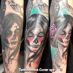 Tattoodrome Cover up ☺😋😊😉😁