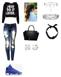 """""""Untitled #111"""" by haterz18 on Polyvore featuring MICHAEL Michael Kors and Effy Jewelry"""