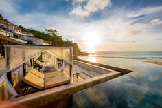The Shore at Katathani, Phuket, Thailand. The resort is a wonderful Thai spot with stunning views across the Andaman Sea. Each villa proposes private infinity pool and modern interior design, with some oriental touches. More on www.theshore.katathani.com #leCollectionist #Thailand #LuxuryResort #Phuket