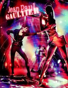 Karlie Kloss & Coco Rocha for Jean Paul Gaultier S/S 2014 |