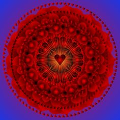 'Valentine' by Sarah Niebank - has a 3D look to it though I don't know how she did it.