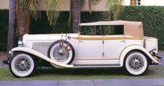 1930 Auburn V-12 Custom 4-Door Convertible Phaeton