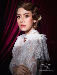 Traditional Thai Clothing, Traditional Dresses, Thailand, Thai Fashion, Thai Dress, Flower Girl Dresses, Costumes, Silk, Formal