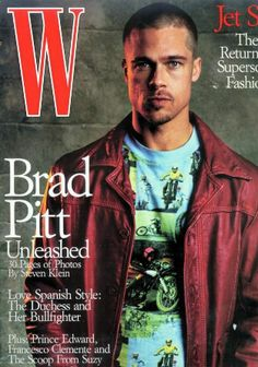 Brad Pitt photographed by Stephen Klein - W Magazine [United States] (July 1999) the entire layout is a collector's item - mhw