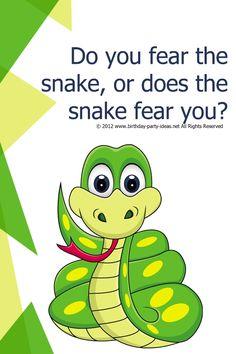Snake Birthday Party