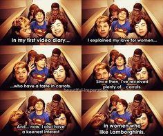 I swear Louis