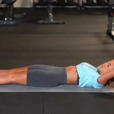 Fitness Workouts, Abs Workout Routines, Butt Workout, Fitness Diet, Workout Videos, Yoga Fitness, At Home Workouts, Lower Abs, Trainer