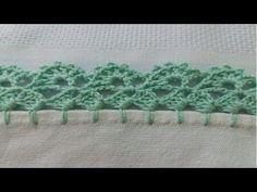Bico de crochê carreira única #102 - YouTube