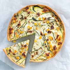 recept courgette quiche www. Healthy Dishes, Tasty Dishes, Healthy Recipes, Feel Good Food, I Love Food, Zucchini Quiche, Food Inc, Oven Dishes, Dutch Recipes
