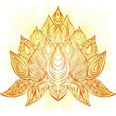 Lotus flower tattoo idea design #inked #ink