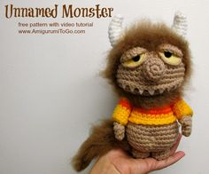 Make Me and Give Me A Name ~ free pattern by Amigurumi To Go