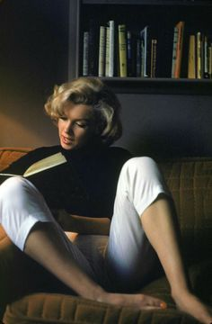 Marilyn Monroe was a well known bibliophile.