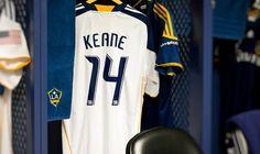 Robbie Keane LA GALAXY JERSEY!