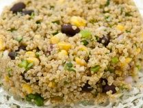 Positively Flavor-Packed Quinoa and Black Bean Salad