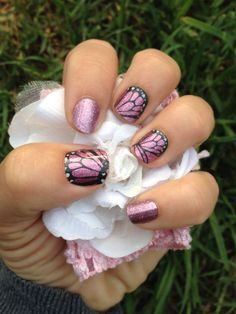 Butterfly Kisses with Pixie #Jamberry #Nails #nailwraps #Beautiful #Butterfly melodcr.jamberry.com Melody.cr10@yahoo.com