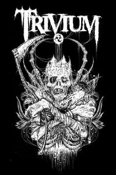 #trivium #metalcore Putting classical and baroque into metal guitar riffs= amazing!!!!