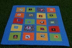 Eye Spy Baby quilt I made!